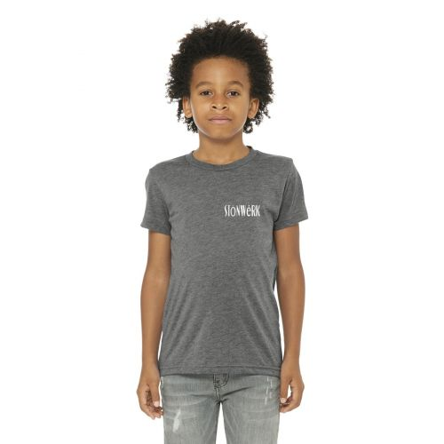 BC3413Y BELLA+CANVAS Youth Triblend Short Sleeve Tee