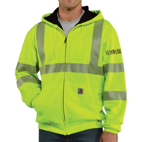 Safety Sweatshirt - Carhartt Class 3 Thermal-Lined