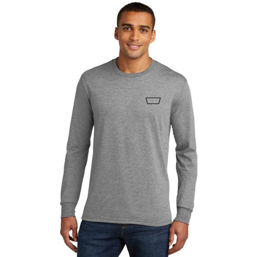 District Long Sleeve Tri-Blend Tee