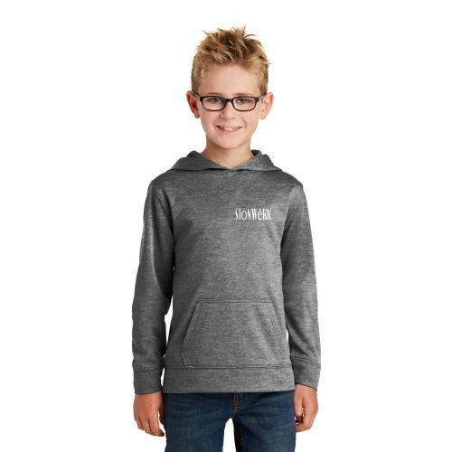 PC90YH  Port & Company - Youth CoreHooded Sweatshirt